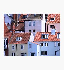 Whitby Townscape Photographic Print