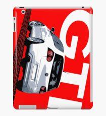 VW Golf 5 GTI Tiremark iPad Case/Skin
