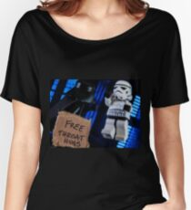 Free Throat Hugs Women's Relaxed Fit T-Shirt
