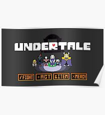 Undertale design | Characters Poster