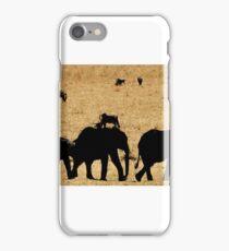 Tarangire Elephant Parade iPhone Case/Skin