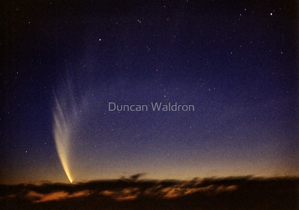 Comet McNaught by Duncan Waldron