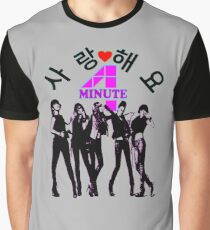 ♥♫SaRangHaeYo(Love) Hot Fabulous K-Pop Girl Group-4Minute Cool K-Pop Clothes & Phone/iPad/Laptop/MackBook Cases/Skins & Bags & Home Decor & Stationary♪♥ Graphic T-Shirt