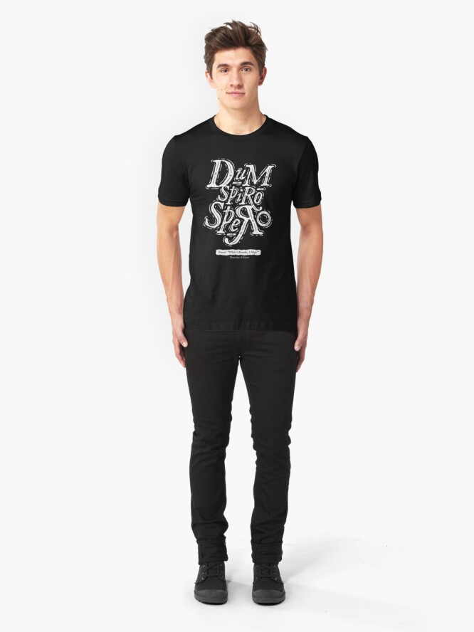 Alternate view of Dum Spiro Spero Slim Fit T-Shirt