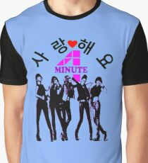 ♥♫SaRangHaeYo(Love) Hot Fabulous K-Pop Girl Group-4Minute Clothes & Phone/iPad/Laptop/MackBook Cases/Skins & Bags & Home Decor & Stationary & Mugs♪♥ Graphic T-Shirt