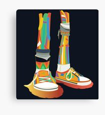Rainbow Kicks Canvas Print