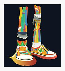 Rainbow Kicks Photographic Print