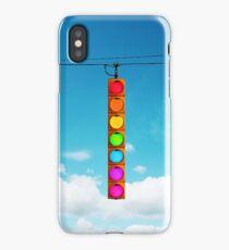 Rainbow Traffic Light iPhone Case