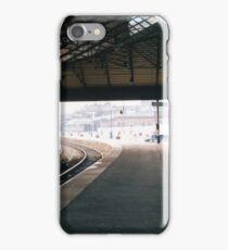 Scarborough Railway Platform 1980s iPhone Case/Skin