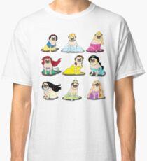 Pug Princesses Version 2 Classic T-Shirt