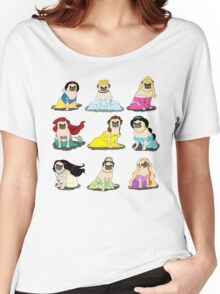 Pug Princesses Version 2 Women's Relaxed Fit T-Shirt