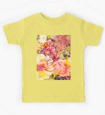 Yellow flowers Kids Tee