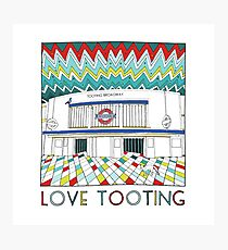 Love Tooting (Tooting Broadway Station) Photographic Print