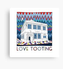 Love Tooting (Tooting Library) Canvas Print
