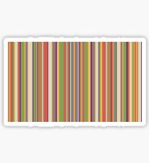 Dr Doctor Who 4th Doctor Scarf Like Sticker