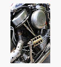Custom Harley Panhead Photographic Print