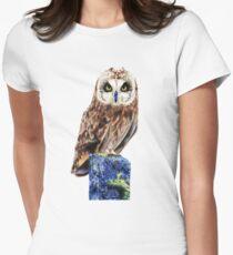 Colourful Barn Owl T-Shirt