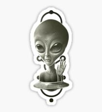Alien II Sticker