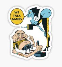 TT Schmootkins and Stinky The Game Master Sticker