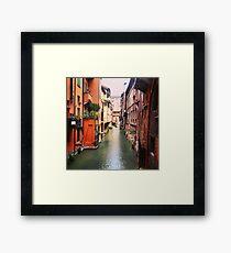 Secret Canal Framed Print