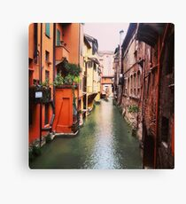 Secret Canal Canvas Print