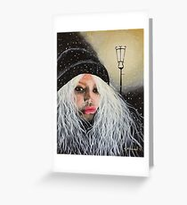 Samantha Mazza (Snow Queen) #therealbookbabe Greeting Card