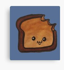 Tough Toast Canvas Print