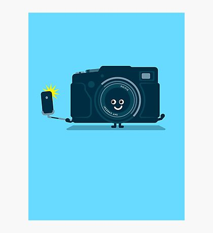 Character Building - Selfie camera Photographic Print