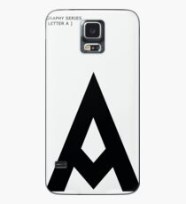Letter A Case/Skin for Samsung Galaxy