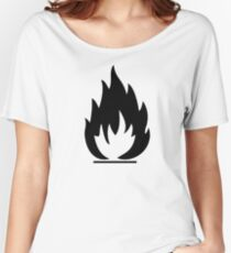 Flammable Women's Relaxed Fit T-Shirt