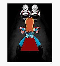 Evil Twins Photographic Print