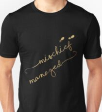 Mischief Managed (black) T-Shirt