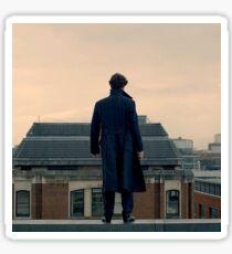 Sherlock Falls Sticker