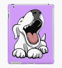 Laughing Bull Terrier iPad Case/Skin