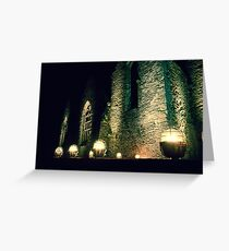 Abbaye de Saint-Mathieu Greeting Card