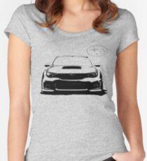 Subaru WRX STi Tailliertes Rundhals-Shirt