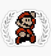 Super Mario - Sprite Badge 4 Sticker