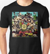 SGT PUGS LONELY HEARTS PUG BAND T-Shirt