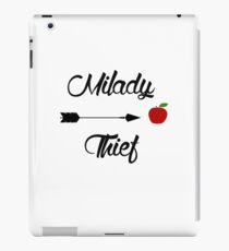 Milady... Thief - Outlaw Queen iPad Case/Skin