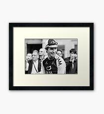 Thomas Löfkvist (IAM Cycling) Framed Print