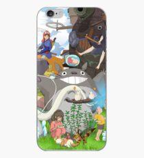 Manga Ghibli Totoro iPhone-Hülle & Cover
