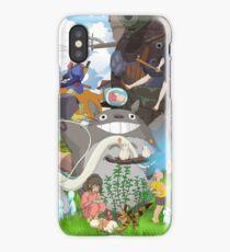 Manga Ghibli Totoro iPhone Case