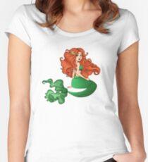 Irish Mermaid Women's Fitted Scoop T-Shirt
