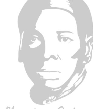 Harriet Tubman with Real Signature by LaJura