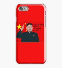 Supreme Leader iPhone Case/Skin