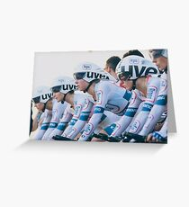 Team Argos-Shimano Greeting Card