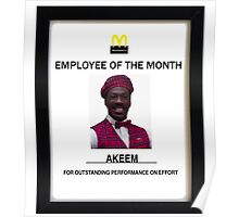 employee of the month posters by rhserra redbubble