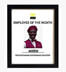 Employee of the month Photographic Print