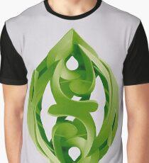 Leaf Sculpture Graphic T-Shirt