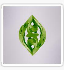 Leaf Sculpture Sticker